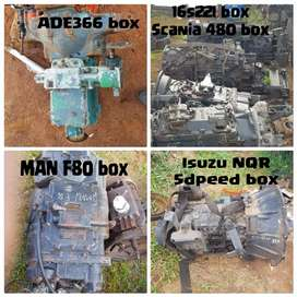 Truck gearboxes