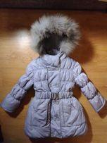 Зимнее пальтишко р.98