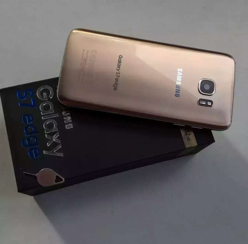 Selling Samsung s7 edge galaxy 128inbuilt, first user(duos) 0