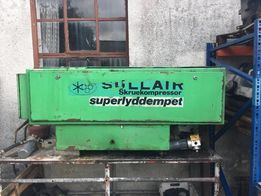 Sprężarka śrubowa 14 kilowat Sullair 3.500Ł