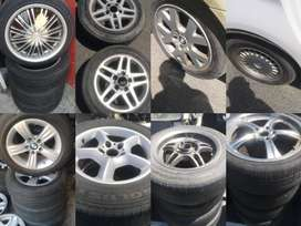 BMW rims and tyres for sale.