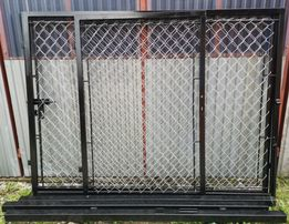 Kompletna brama 2x2m + 1m bramka furtka