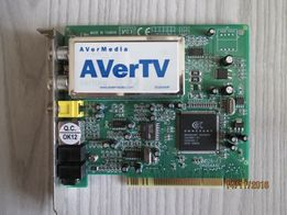 Karta telewizyjna do komputera PCI, AVerTV