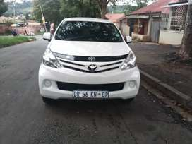 2015 TOYOTA AVANZA WITH AN ENGINE CAPACITY OF 1,5