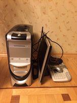 Компютер (системний блок, монітор, клавіатура)