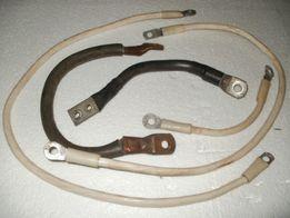 кабель з клемами(мідний,гнучкий)
