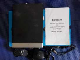Dragon 29 mhz radio and magnetic antenna