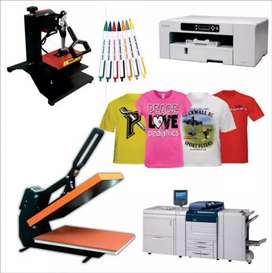 Complete vinyl and sublimation equipment for sale.