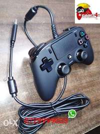 Wired Ps4 Game Pad and Original 0