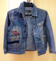 Куртка легкая джинсовая