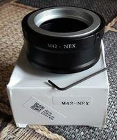 Переходник с объективов м42, м39 (m42,m39) на Sony E ( Nex)
