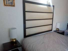 Custom made Headboard and 2 pedestals .All for R3500