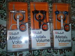 Наушники Langsdom M300 Metal Super Bass Регулятор Громкости Микрофоном