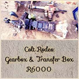 Colt Rodeo gearbox and transfer box