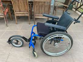 Wheelchair for running with special needs child/young adult