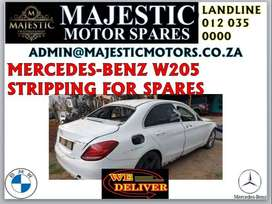 Mercedes-Benz w205 stripping for spares