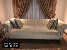 2 seater chesterfield
