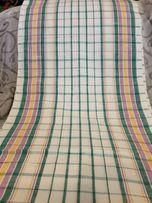 Ткань полотенечная льняная