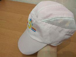 Лёгкая летняя кепка панама ткань+сетка для девочки 3-6 лет почти даром