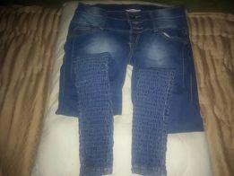 Spodnie jeansy niebieskie