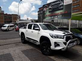 2019 Toyota hilux gd6 automatic