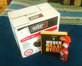 BRAND NEW in Box 37cm Weber Braai Kit !