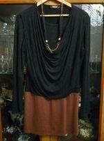 Платье - туника с бусами