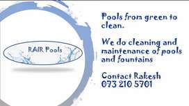 Pool Maintenance and Cleaning...