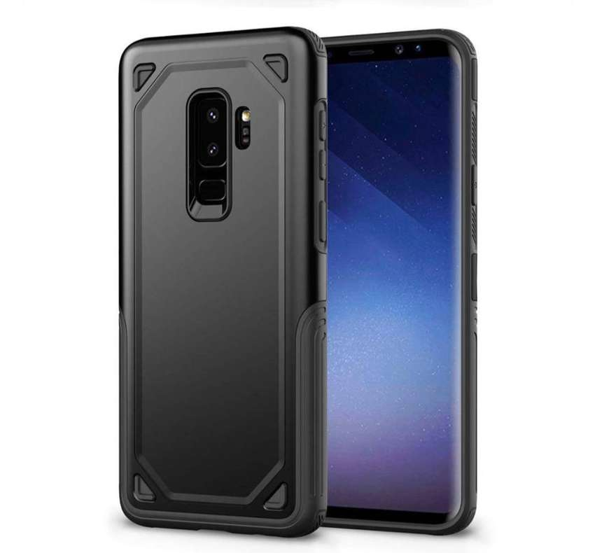 Rugged armor shockproof case for samsung galaxy s9+ s10+ 0