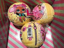 Куколка Lol surprise Confetti Pop 3 серия 1 и 2 волна