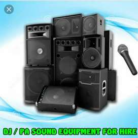Dj & Sound Equipment 4 Hire