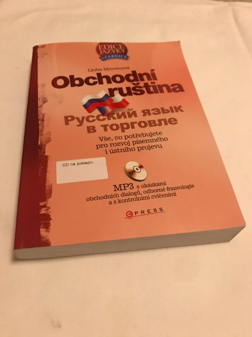 Obchodná ruština - kniha + CD 0