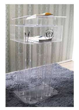 Modern All Acrylic Design Pulpits Low Priced