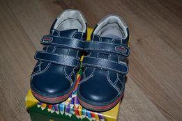 Туфли на липучке Bare Feet стелька 18,5см