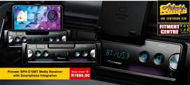 Pioneer SPH-C10BT Media Receiver with Smartphone Integration  Flagship