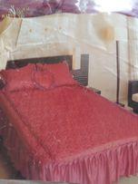 Покрывало и 2 подушки на 2-сп кровать новое