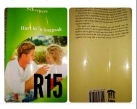 Romance books Afr and Eng