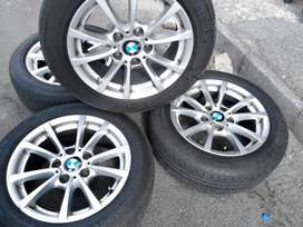 second hand mags and tyres 16inch for BMW