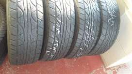 4 × 245 / 70 / 16 Dunlop AT3 tyres for sale