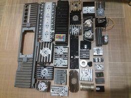 Радиатор охлаждения транзисторов, диодов алюминиевый