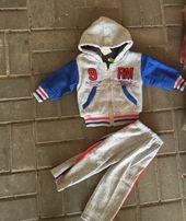 Новый детский спортивный костюм на мехе 4-5 лет