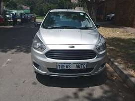 2017 FORD FIGO WITH AN ENGINE CAPACITY OF 1,5