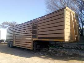 Cattle Trailer In Good Condition