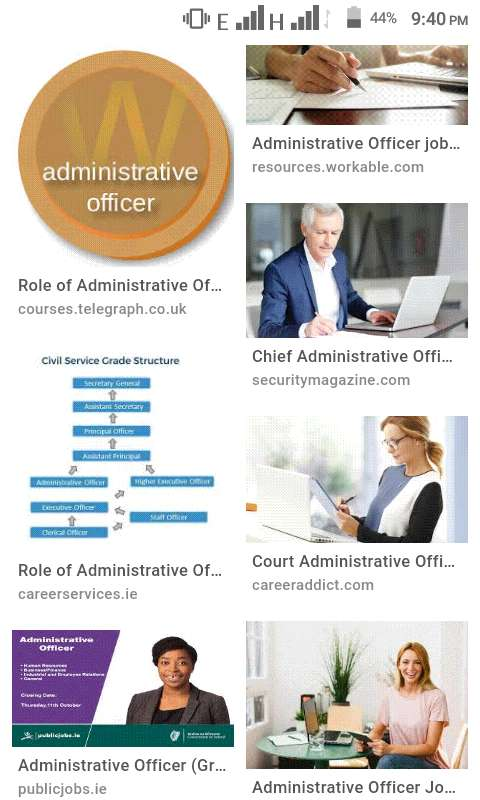 Administrative Officers 0