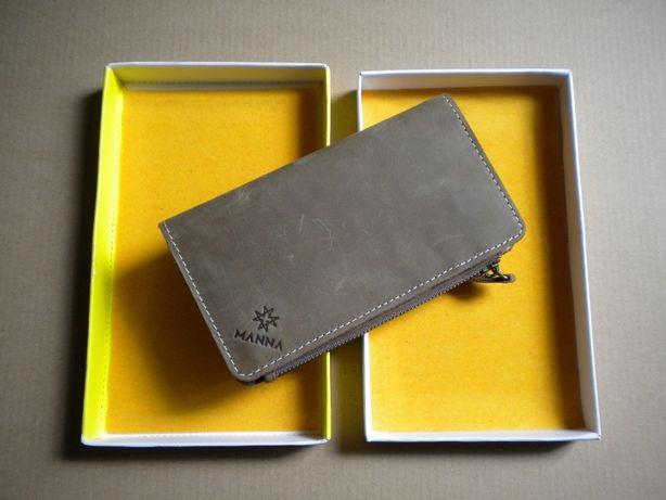 Гаманець-чохол кошелек-чехол Leicke Manna для iPhone SE