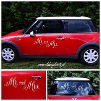 Naklejki na auto Mr and Mrs