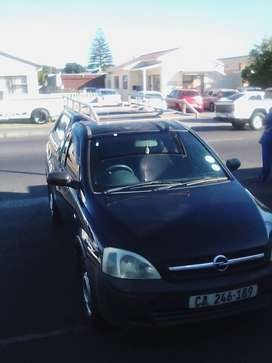 Opel Corsa Utility with canopy and roof rack