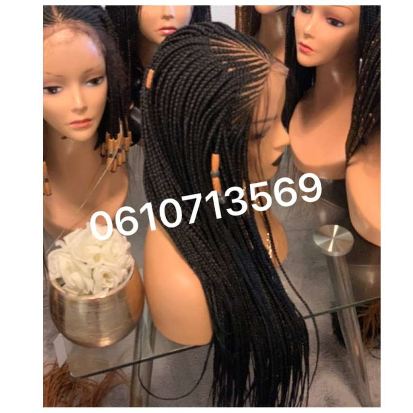 NEATEST CORNROW LACE FRONT WIG