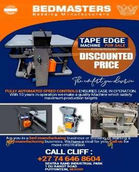 Tape Edge Machines
