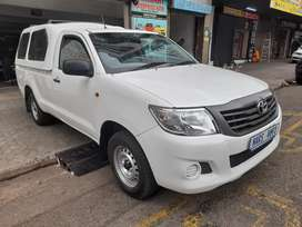 2012 TOYOTA HILUX S.CAB, CANOPY